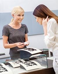 Sales Rep at a Diamond Store